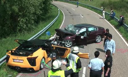Главный тест-пилот Toyota трагически погиб на испытаниях Lexus
