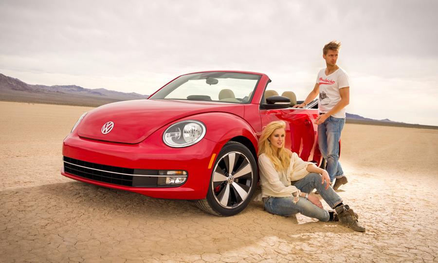 Volkswagen показал новый кабриолет Beetle