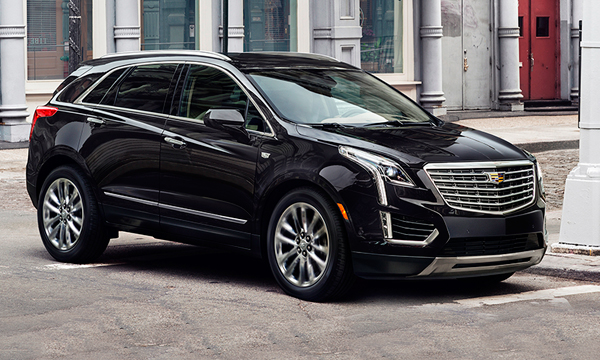 Cadillac представил новый кроссовер XT5