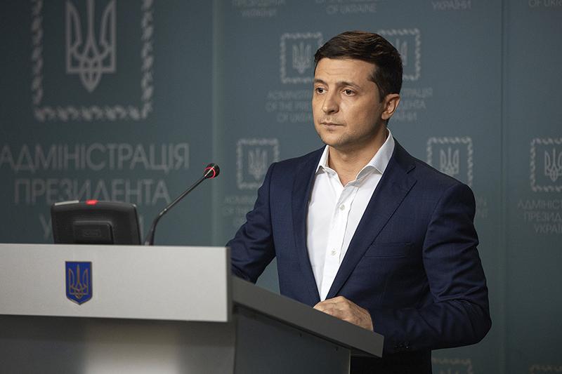 Фрагмент видеообращения президента Украины, 11 августа 2019 года