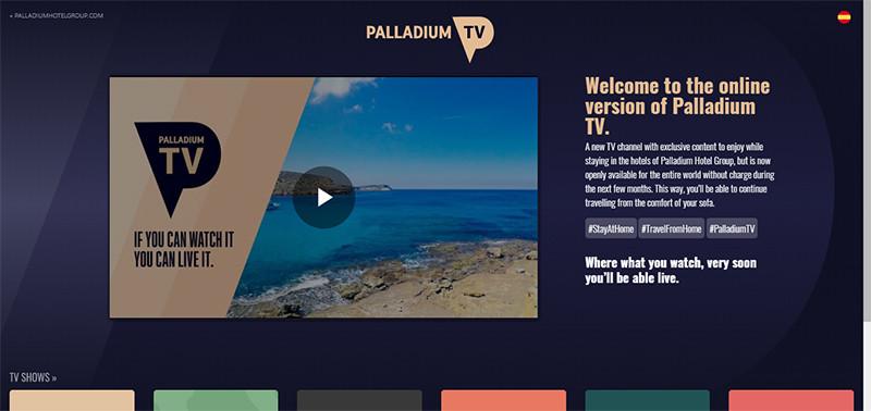 Сайт Palladium TV