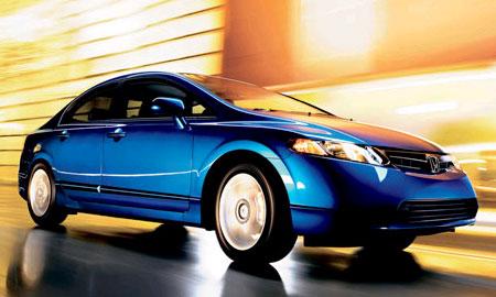 """Honda Civic - """"Автомобиль Года"""" в Америке"""