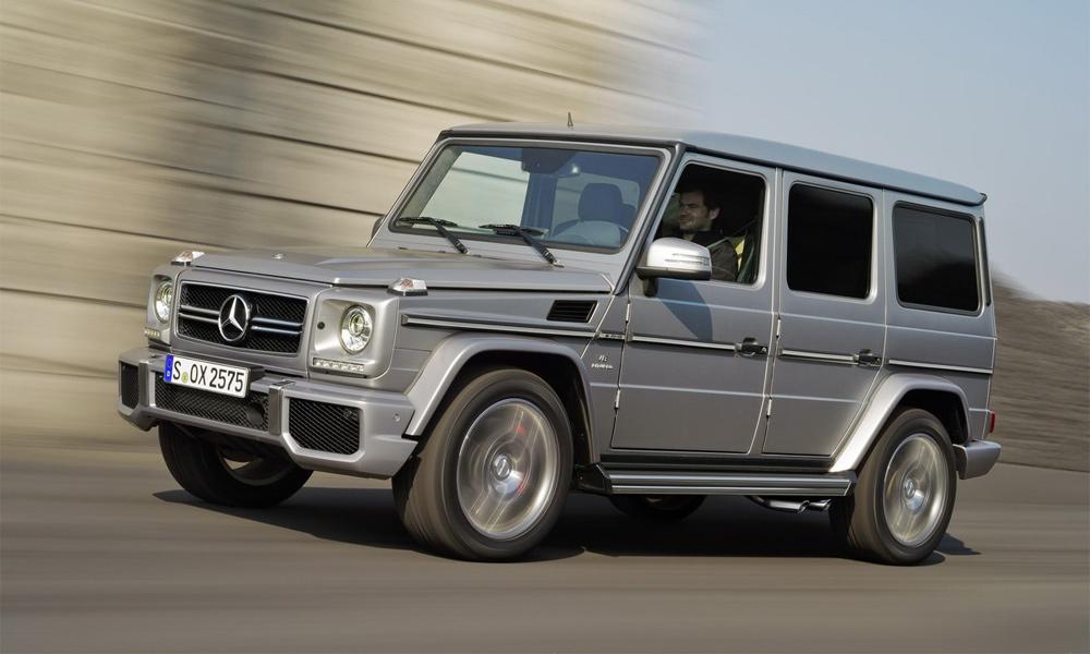 Mercedes-Benz G63 и G65 AMG: самые быстрые «кирпичи»