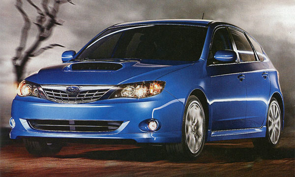 Subaru Impreza WRX 2008
