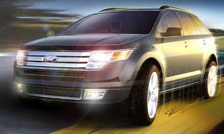 Ford показал первый скетч Edge в преддверии Детройта