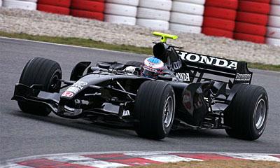 Honda RA 107 F1 car