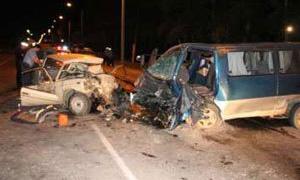 Пять человек погибли в крупном ДТП в Бурятии