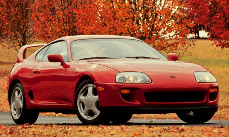 Toyota Supra 1996 г.