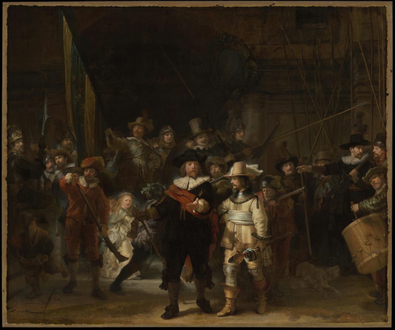 Рембрандт, «Ночной дозор»