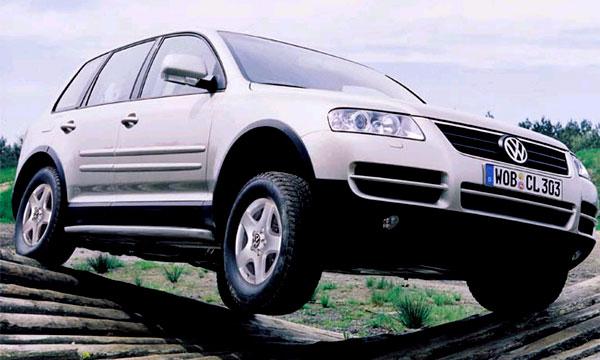 Из моделей Volkswagen в России наиболее популярен Touareg