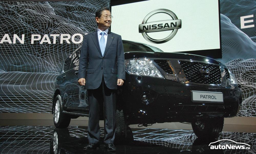 Nissan привез в Россию новое поколение Patrol