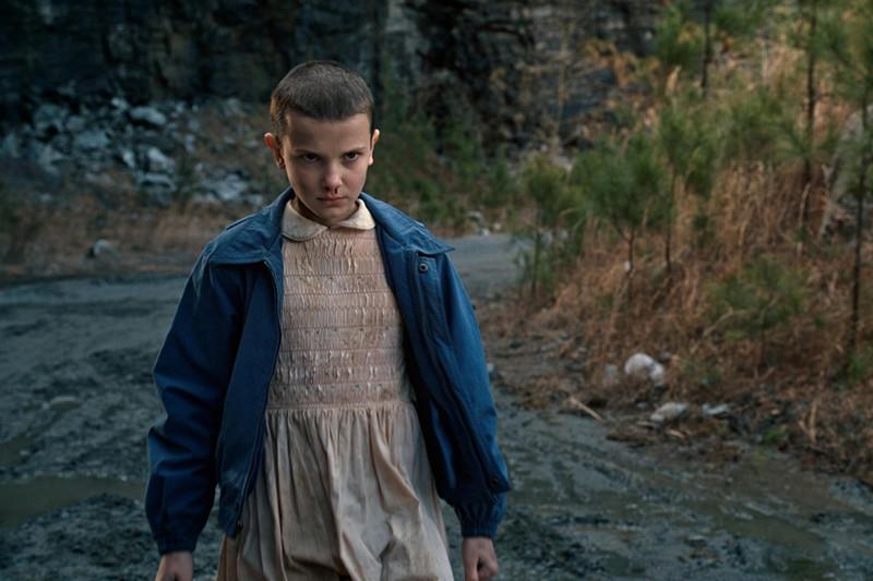 Кадр из фильма«Очень странные дела»