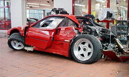 В США стритрейсер разбил Ferrari