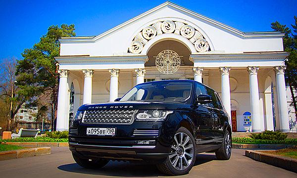 Лимузин на высоте. Тест-драйв Range Rover LWB