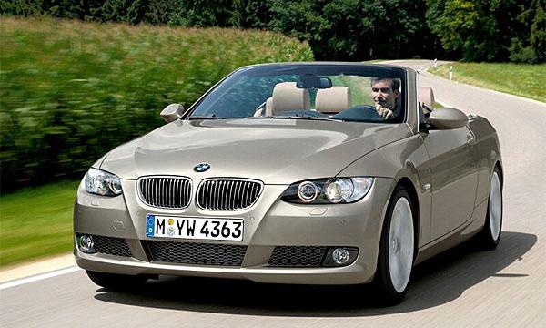 BMW публикует официальные фото кабриолета 3 серии