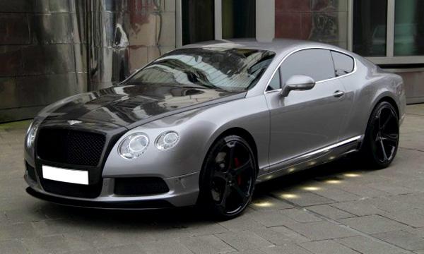 Bentley создаст экстремальное купе из карбона