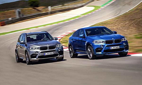 BMW представила новые М-версии Х5 и Х6