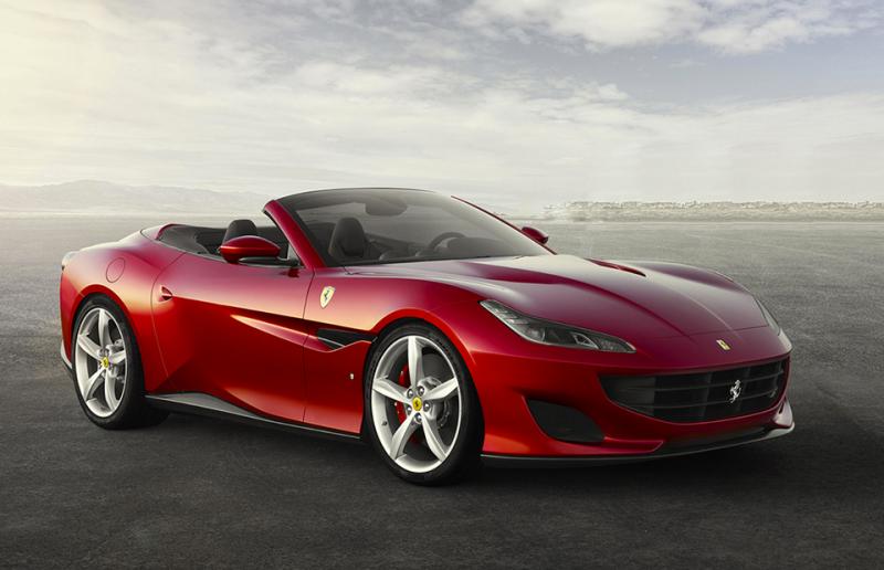 Ferrari Portofino — от €196 000