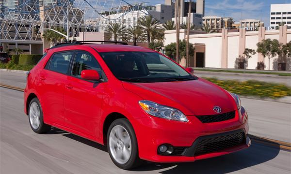 Toyota Matrix снимут с производства через год
