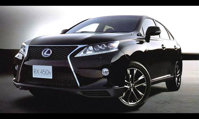 Lexus в ближайшее время представит обновленный кроссовер RX