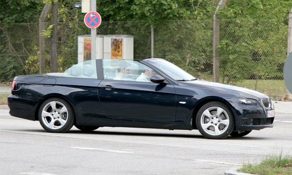Обновленный кабриолет BMW 3 появится в октябре