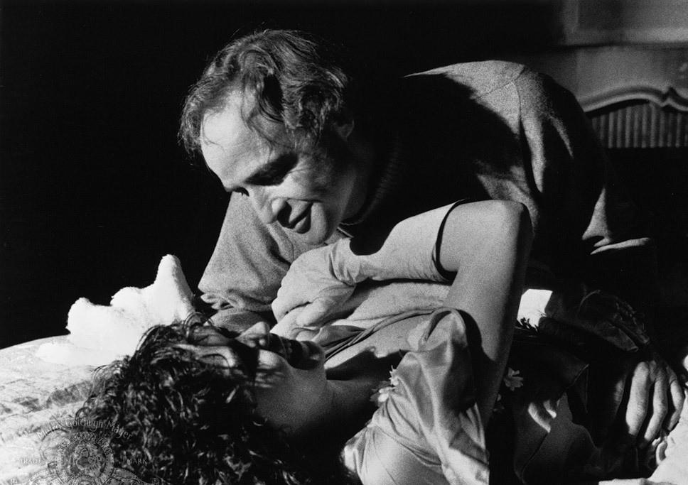 Кадр из фильма «Последнее танго в Париже»