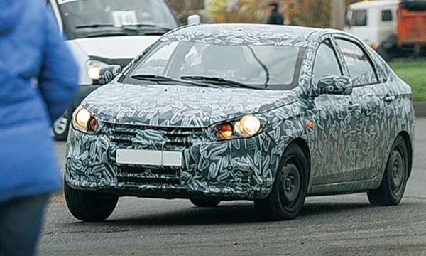 Новую модель Lada засняли на тестах