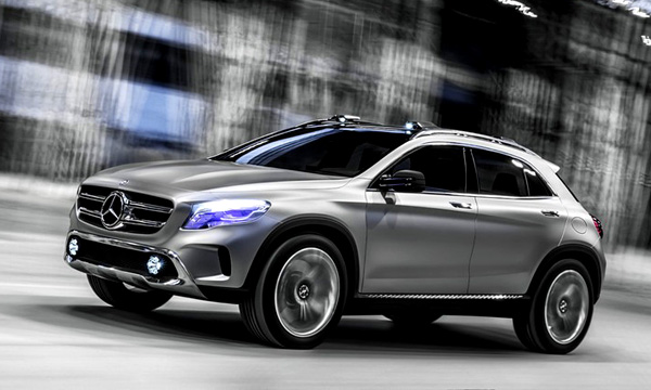 Mercedes опубликовал официальные фотографии концепта GLA