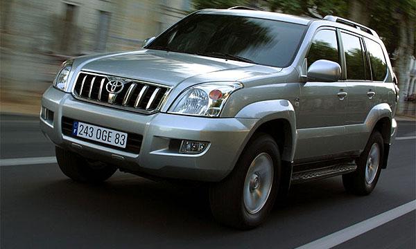 В Москве у советника Внешторгбанка угнан автомобиль Toyota Land Cruiser