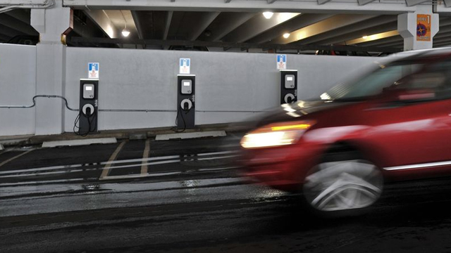 В России появятся бесплатные зарядные станции для электромобилей