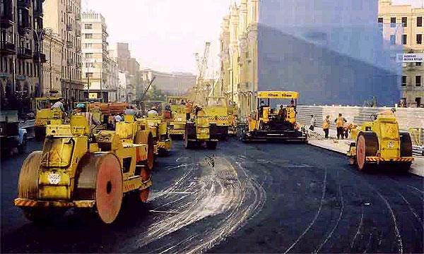 Власти Москвы составили график ремонта дорог на 2007 год