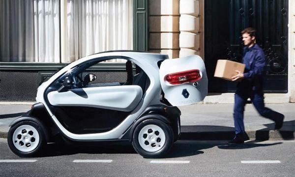 Renault сделает грузовой Twizy
