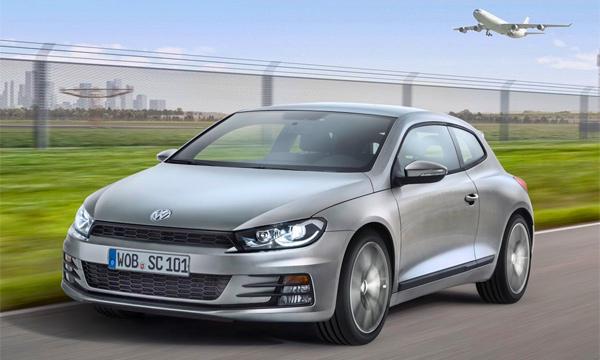 Обновленный Volkswagen Scirocco появится на рынке в этом году