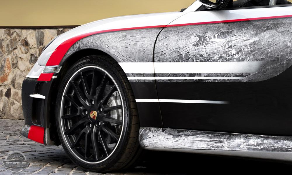 Porsche 911 пережил тюнинг по-русски