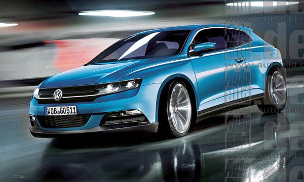 Новое поколение Volkswagen Scirocco появится в 2018 году