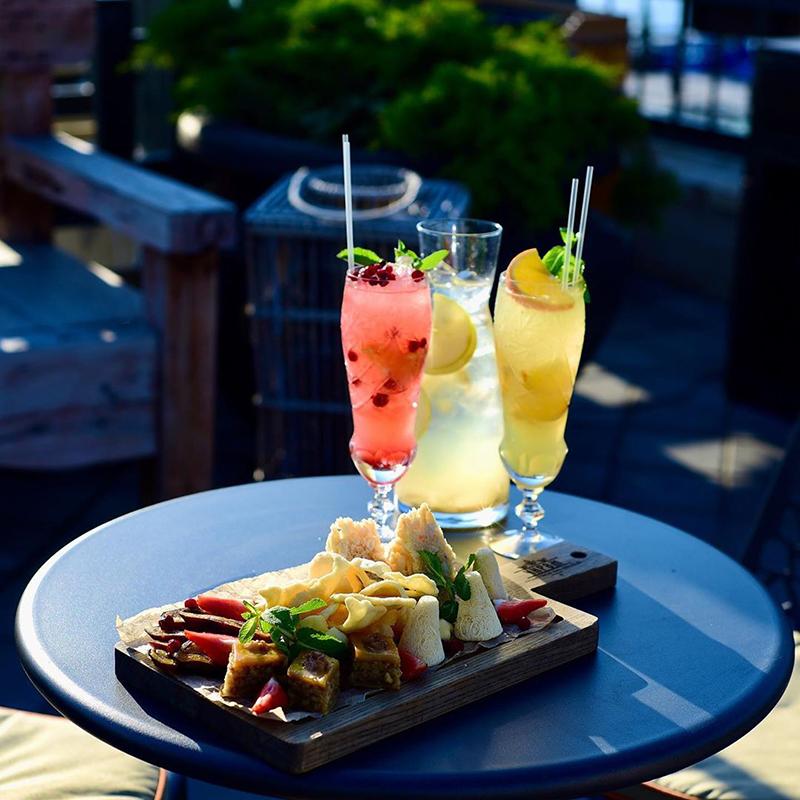 Фруктовые и ягодные лимонады, ресторан «Чирэм»