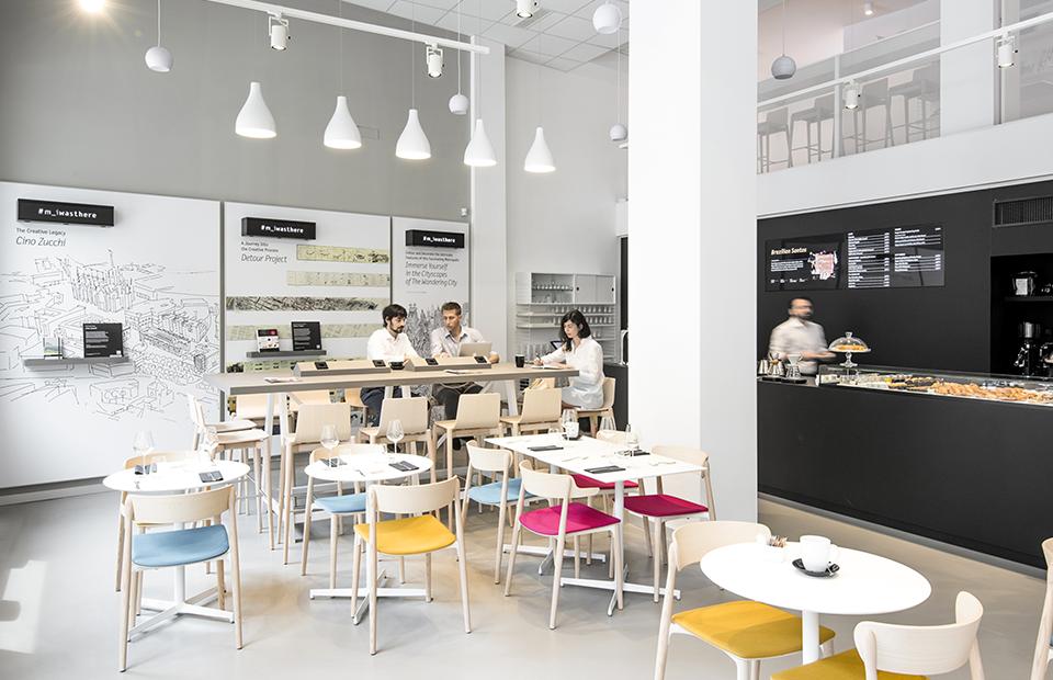 В Милане появилось кафе Moleskine