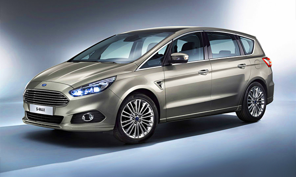 Компания Ford представила S-MAX второго поколения