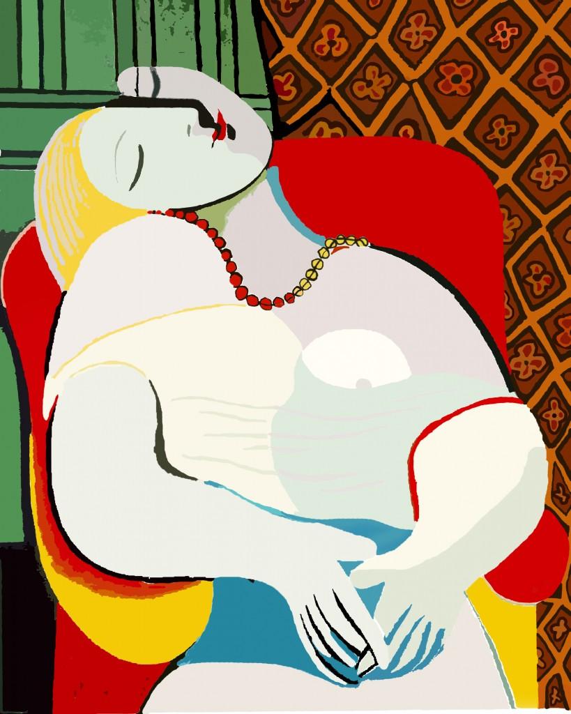 Пабло Пикассо. «Сон»