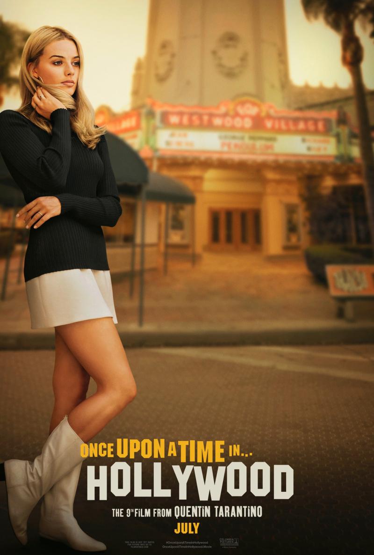 Постер к фильму «Однажды в Голливуде» с Марго Робби