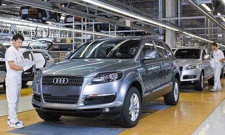 Гибридный внедорожник Audi Q7 не будет продаваться в США
