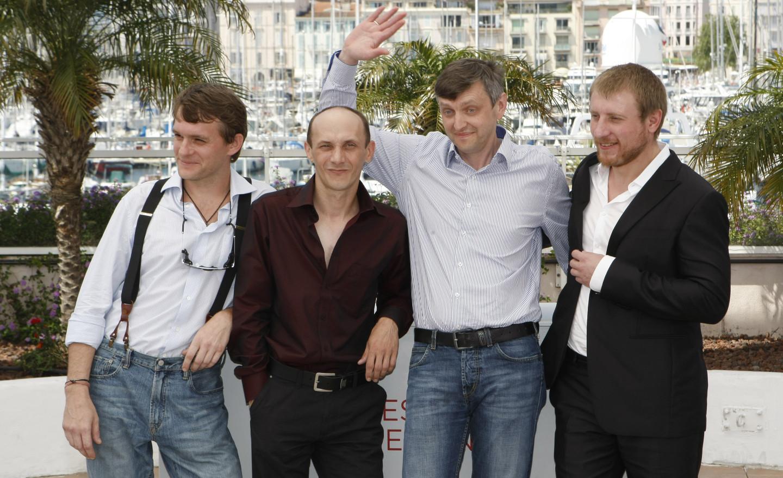 Влад Абашин, Сергей Колесов, Сергей Лозница и Владимир Свирский