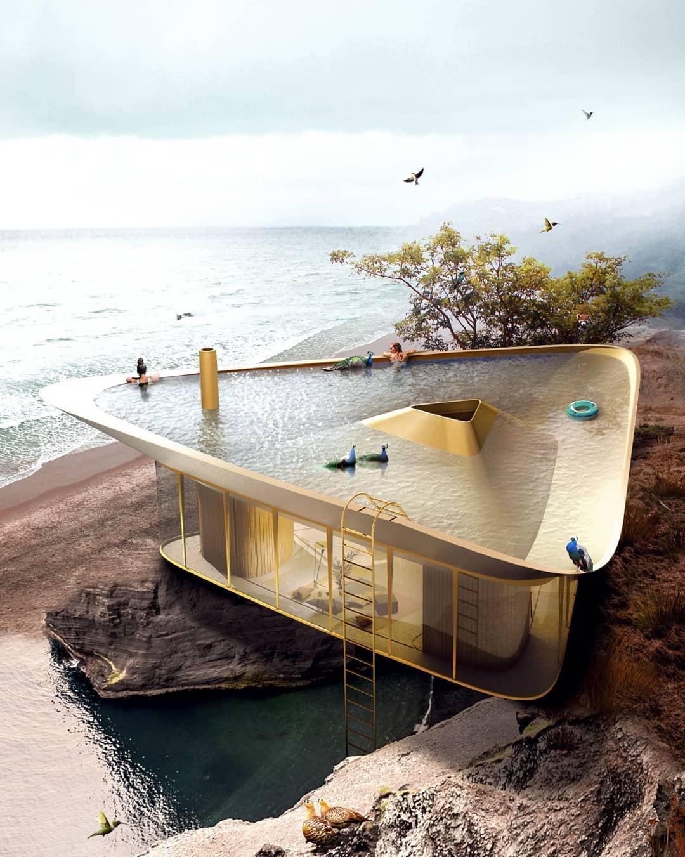Летний дом на берегу моря