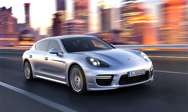 Porsche Panamera – прямиком из Шанхая