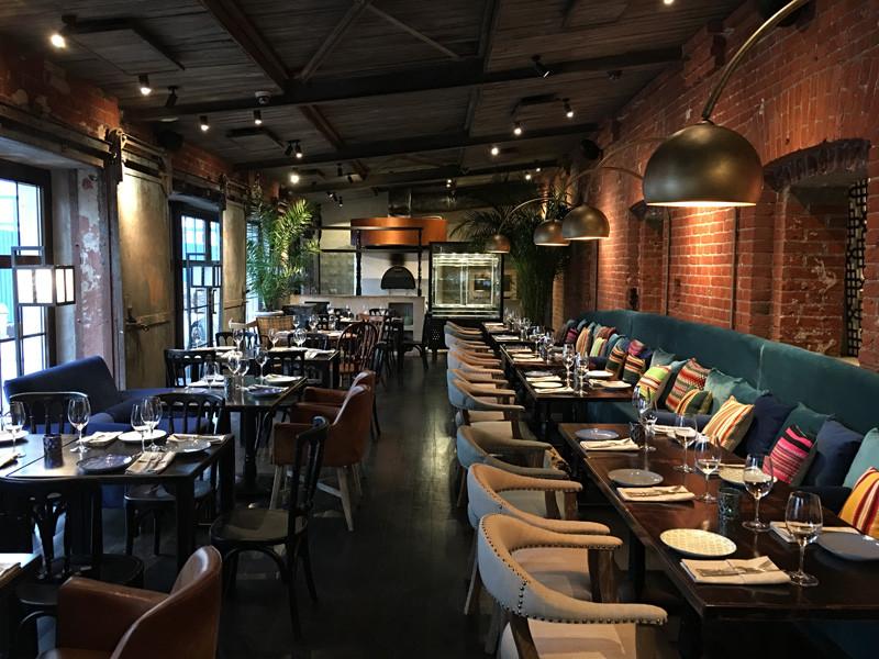 Интерьер ресторана Nofar