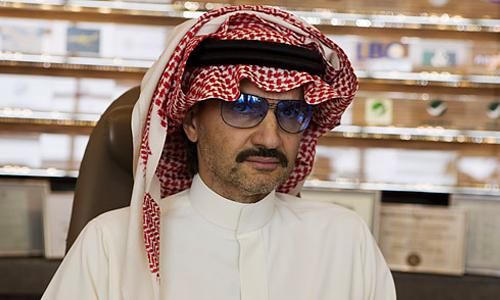 Миллиардер из Саудовской Аравии, принц Альвалид бин Талал