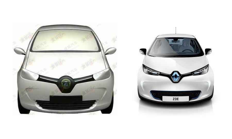 Скопировано правильно: Renault ZOE на китайский манер