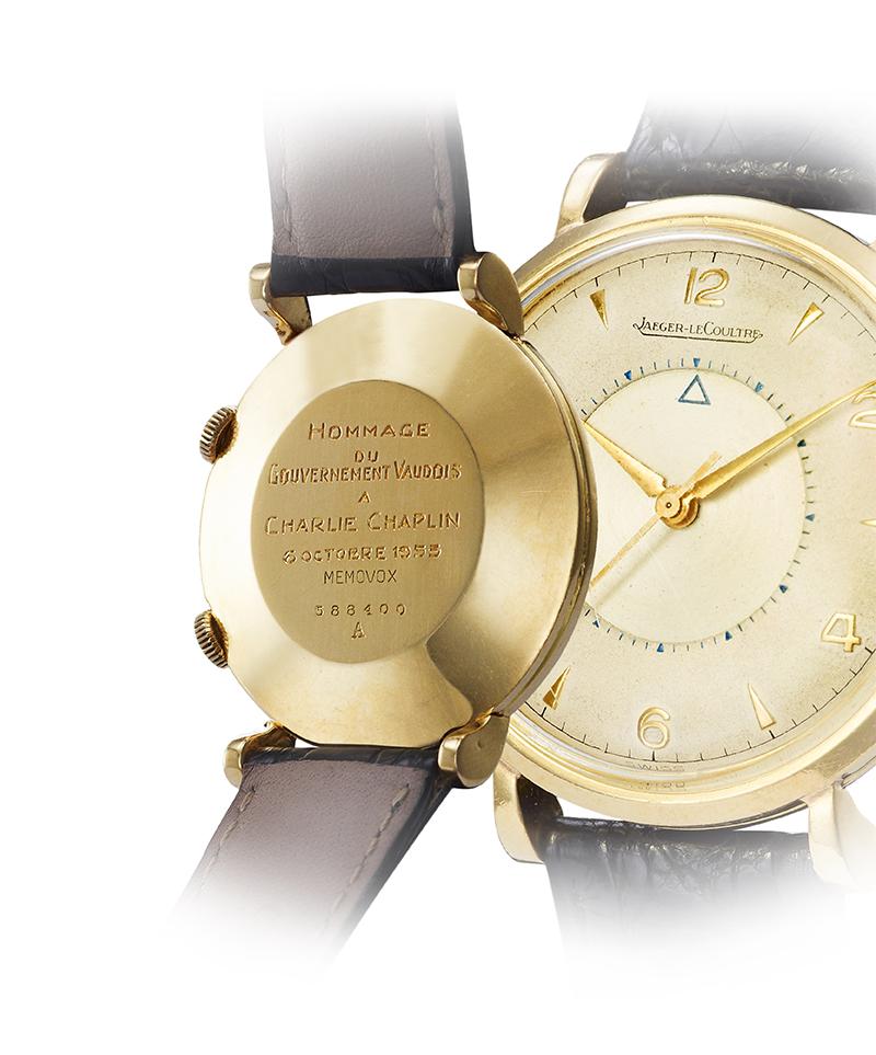 Часы Memovox, Jaeger-LeCoultre, принадлежавшие Чарли Чаплину