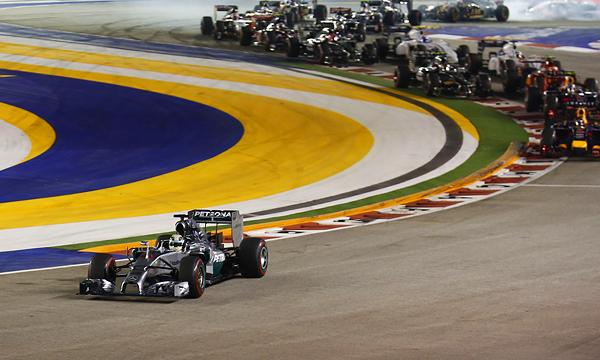 Ночной Гран-при: как в Формуле-1 сменился лидер