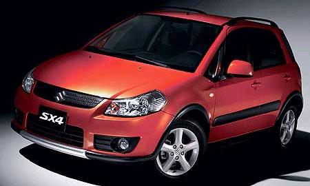 Suzuki SX4. Первые официальные ФОТО